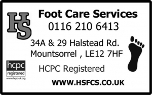 RVL19 HS Footcare Services
